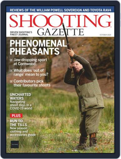 Shooting Gazette October 1st, 2020 Digital Back Issue Cover