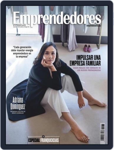 Emprendedores October 1st, 2020 Digital Back Issue Cover