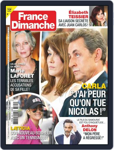 France Dimanche (Digital) September 25th, 2020 Issue Cover