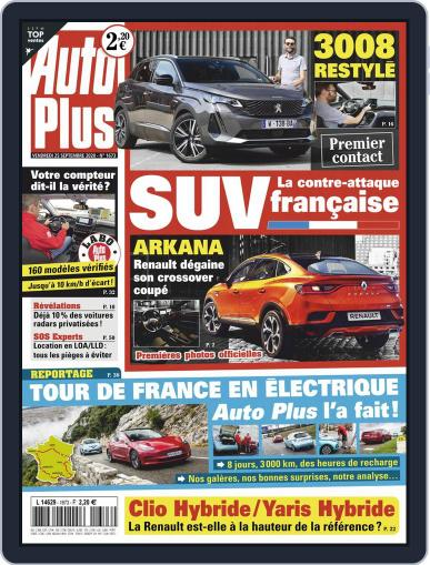 Auto Plus France September 25th, 2020 Digital Back Issue Cover