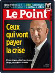 Le Point (Digital) Subscription September 24th, 2020 Issue