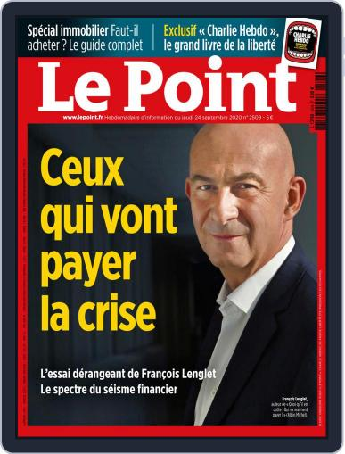 Le Point September 24th, 2020 Digital Back Issue Cover