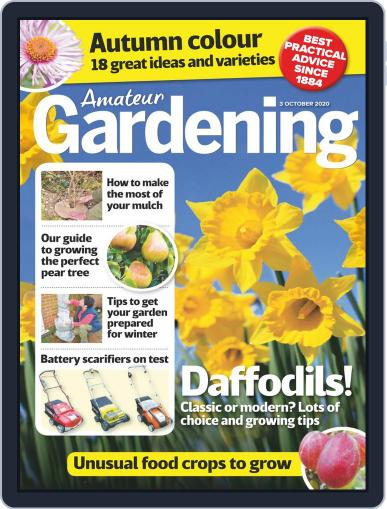 Amateur Gardening (Digital) October 3rd, 2020 Issue Cover