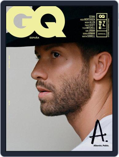 Gq España October 1st, 2020 Digital Back Issue Cover