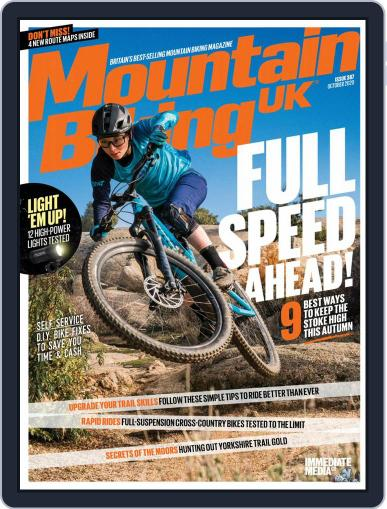 Mountain Biking UK October 1st, 2020 Digital Back Issue Cover