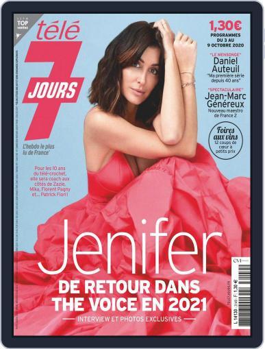 Télé 7 Jours (Digital) October 3rd, 2020 Issue Cover