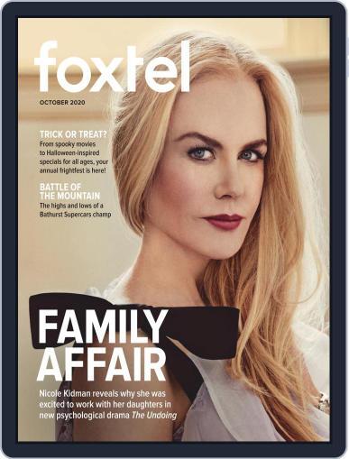 Foxtel October 1st, 2020 Digital Back Issue Cover
