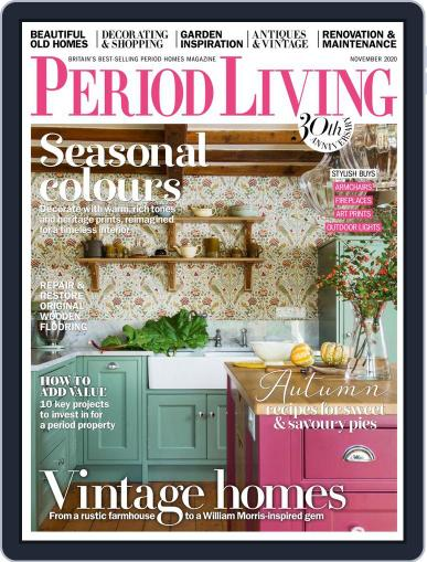 Period Living November 1st, 2020 Digital Back Issue Cover