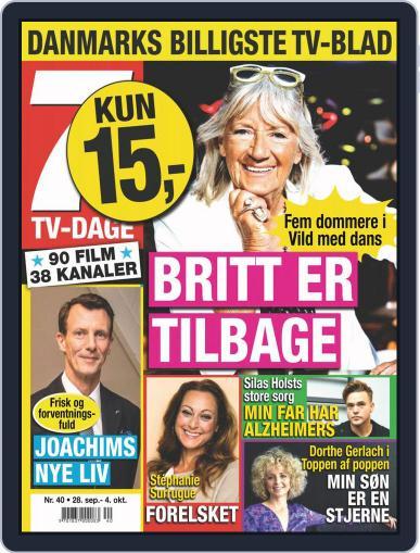 7 TV-Dage (Digital) September 28th, 2020 Issue Cover
