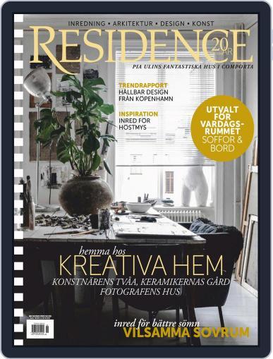 Residence (Digital) September 1st, 2020 Issue Cover