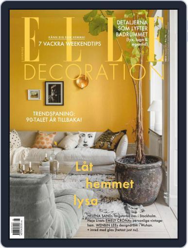 ELLE Decoration Sweden (Digital) October 1st, 2020 Issue Cover
