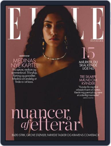 ELLE Denmark October 1st, 2020 Digital Back Issue Cover