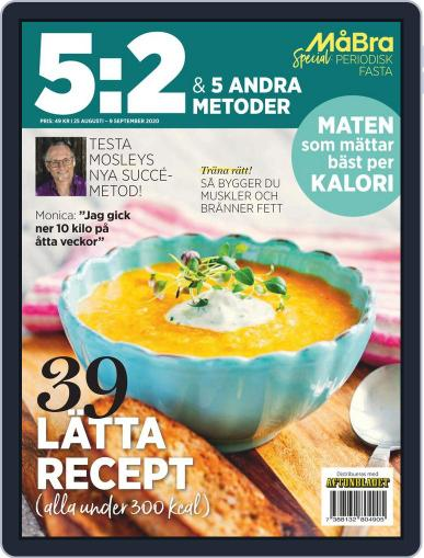 MåBra special: 5:2 och andra metoder Magazine (Digital) August 25th, 2020 Issue Cover