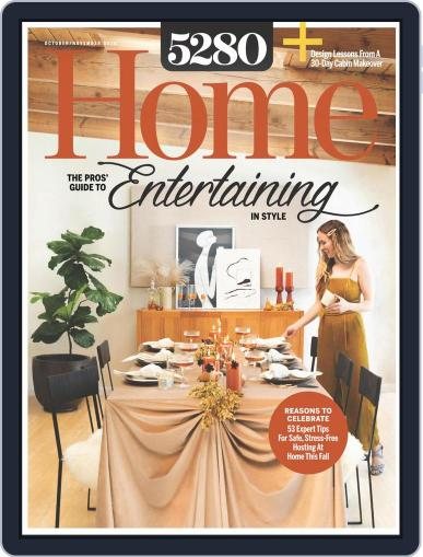 5280 Home October 1st, 2020 Digital Back Issue Cover