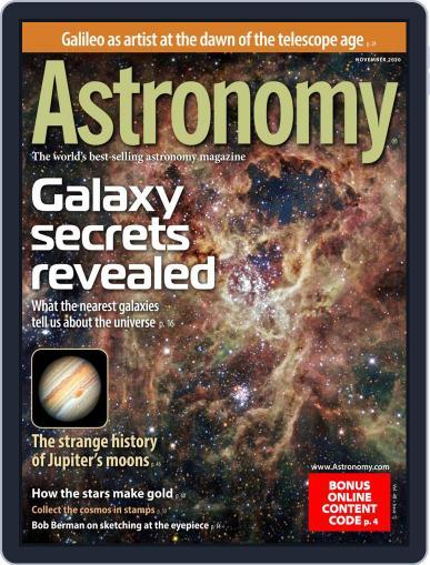 Astronomy (Digital) November 1st, 2020 Issue Cover