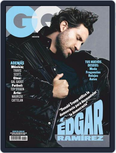 GQ Mexico October 1st, 2020 Digital Back Issue Cover