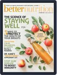 Better Nutrition (Digital) Subscription October 1st, 2020 Issue