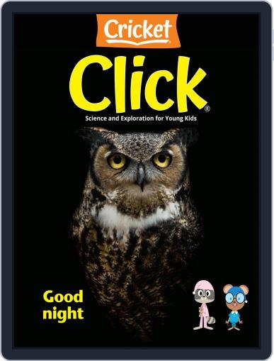 Click Science And Discovery Magazine For Preschoolers And Young Children (Digital) October 1st, 2020 Issue Cover