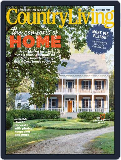 Country Living (Digital) November 1st, 2020 Issue Cover