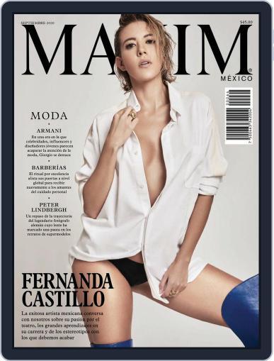 Maxim México (Digital) September 1st, 2020 Issue Cover