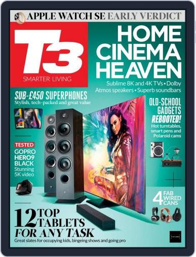 T3 (Digital) October 1st, 2020 Issue Cover