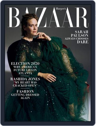Harper's Bazaar October 1st, 2020 Digital Back Issue Cover