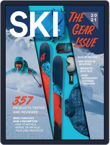 Ski Magazine (Digital) October 1st, 2020 Issue Cover
