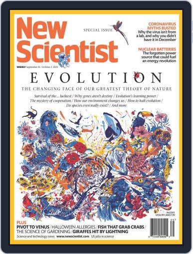 New Scientist (Digital) September 26th, 2020 Issue Cover