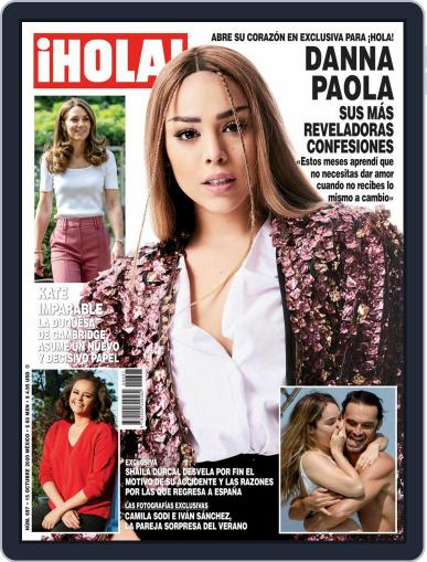 ¡Hola! Mexico (Digital) October 15th, 2020 Issue Cover