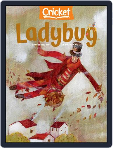 Ladybug Stories, Poems, And Songs Magazine For Young Kids And Children October 1st, 2020 Digital Back Issue Cover
