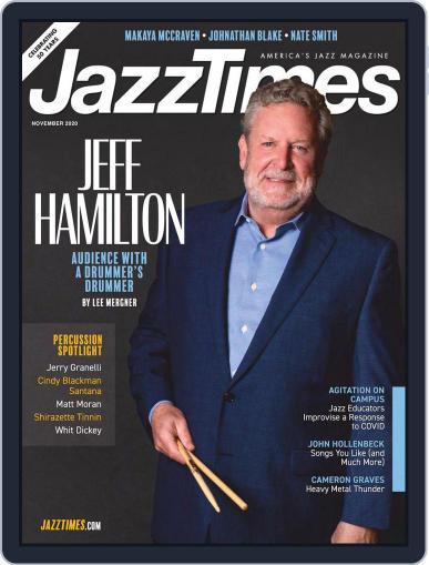 JazzTimes (Digital) November 1st, 2020 Issue Cover