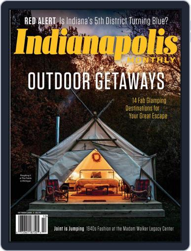 Indianapolis Monthly October 1st, 2020 Digital Back Issue Cover