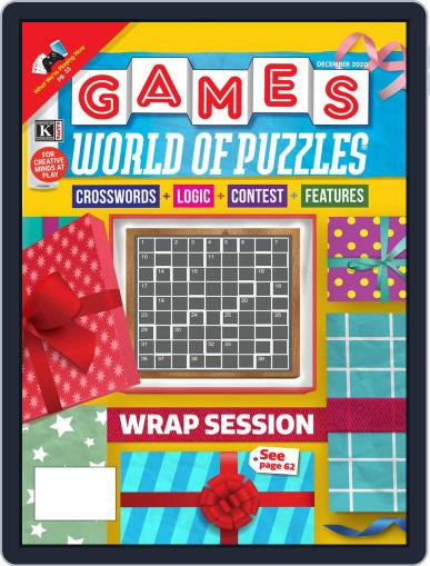 Games World of Puzzles (Digital) December 1st, 2020 Issue Cover