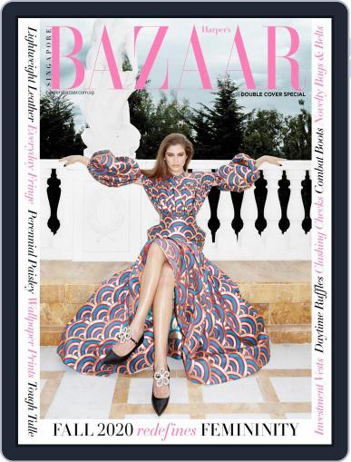 Harper's Bazaar Singapore (Digital) October 1st, 2020 Issue Cover
