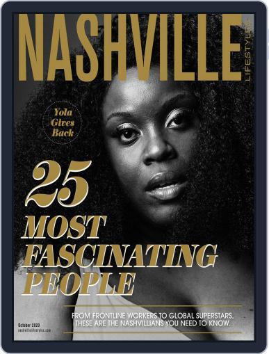 Nashville Lifestyles October 1st, 2020 Digital Back Issue Cover