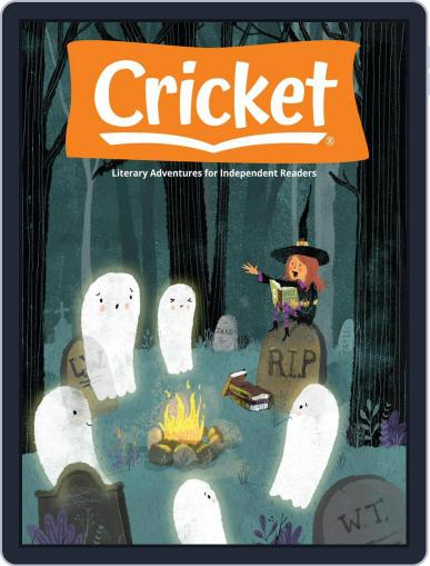 Cricket Magazine Fiction And Non-fiction Stories For Children And Young Teens October 1st, 2020 Digital Back Issue Cover
