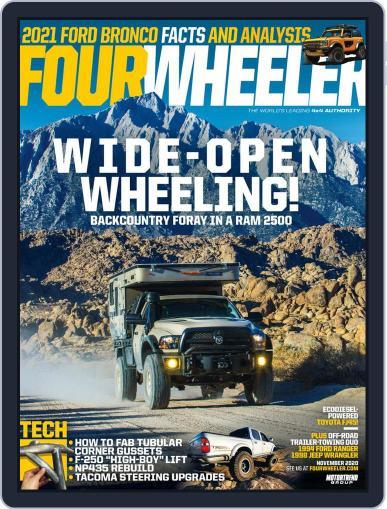 Four Wheeler (Digital) November 1st, 2020 Issue Cover