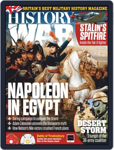 History of War (Digital) October 1st, 2020 Issue Cover