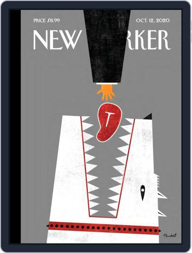 The New Yorker (Digital) October 12th, 2020 Issue Cover