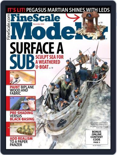 FineScale Modeler (Digital) November 1st, 2020 Issue Cover