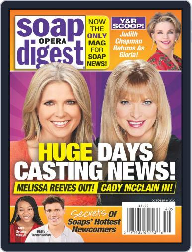 Soap Opera Digest (Digital) October 5th, 2020 Issue Cover