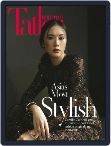 Tatler Philippines October 1st, 2020 Digital Back Issue Cover