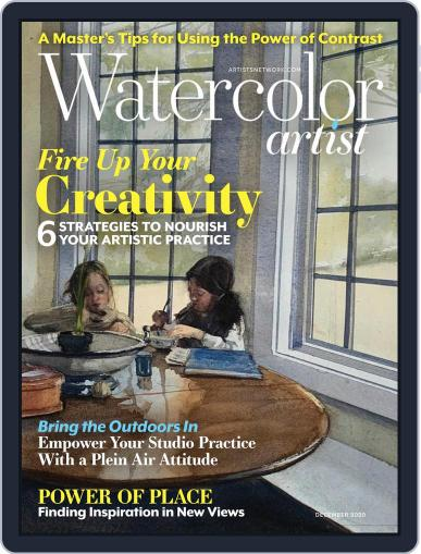 Watercolor Artist (Digital) December 1st, 2020 Issue Cover