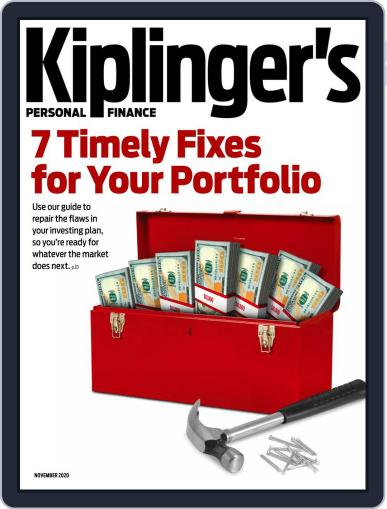 Kiplinger's Personal Finance November 1st, 2020 Digital Back Issue Cover