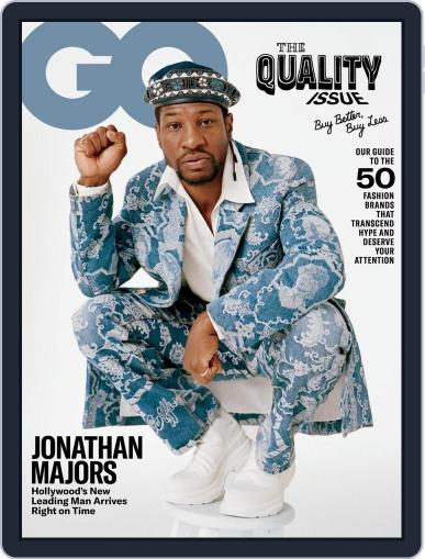 GQ (Digital) October 1st, 2020 Issue Cover