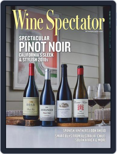 Wine Spectator October 15th, 2020 Digital Back Issue Cover