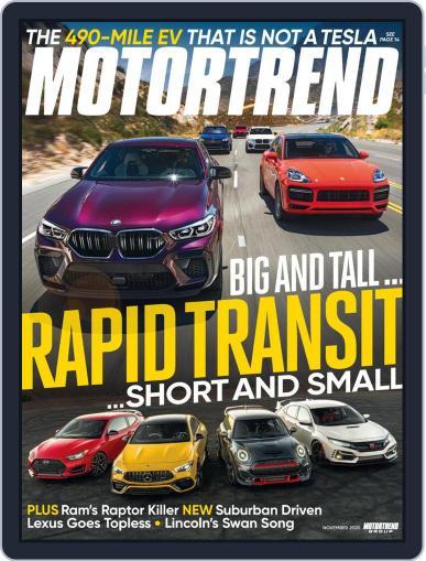 MotorTrend (Digital) November 1st, 2020 Issue Cover