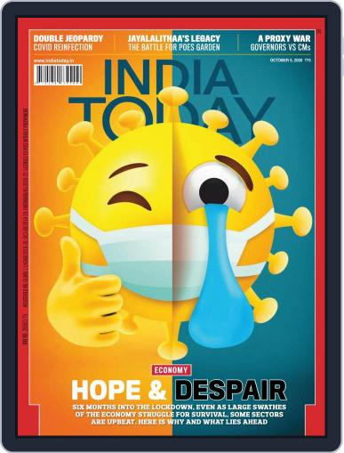 India Today (Digital) October 5th, 2020 Issue Cover