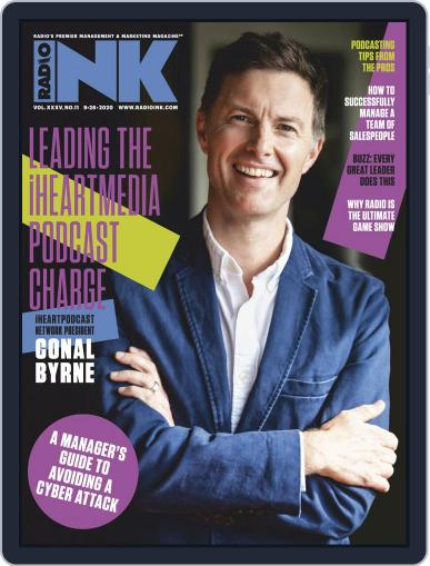 Radio Ink (Digital) September 28th, 2020 Issue Cover