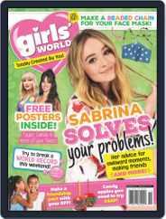 Girls' World (Digital) Subscription November 1st, 2020 Issue